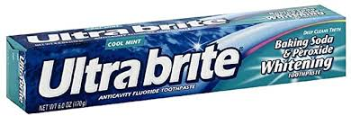 Colgate Ultra Brite Baking Soda and Peroxide Whitening