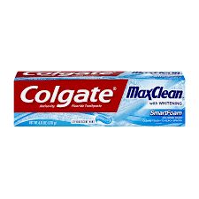 Colgate Max Clean with Whitening Foaming