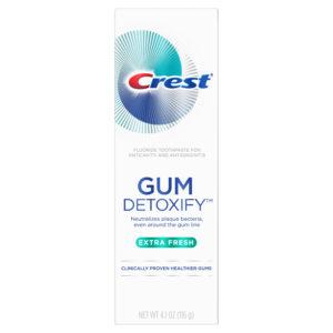 Crest Gum Detoxify Extra Fresh