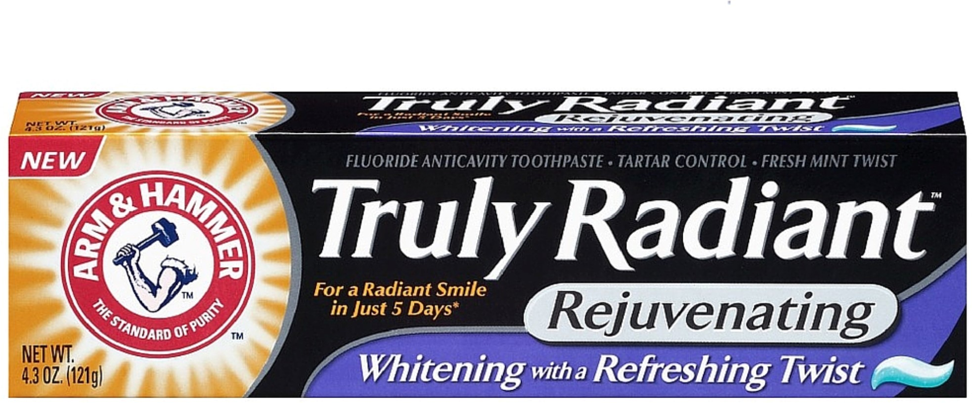 Arm and Hammer Toothpaste Truly Radiant Rejuvenating Whitening