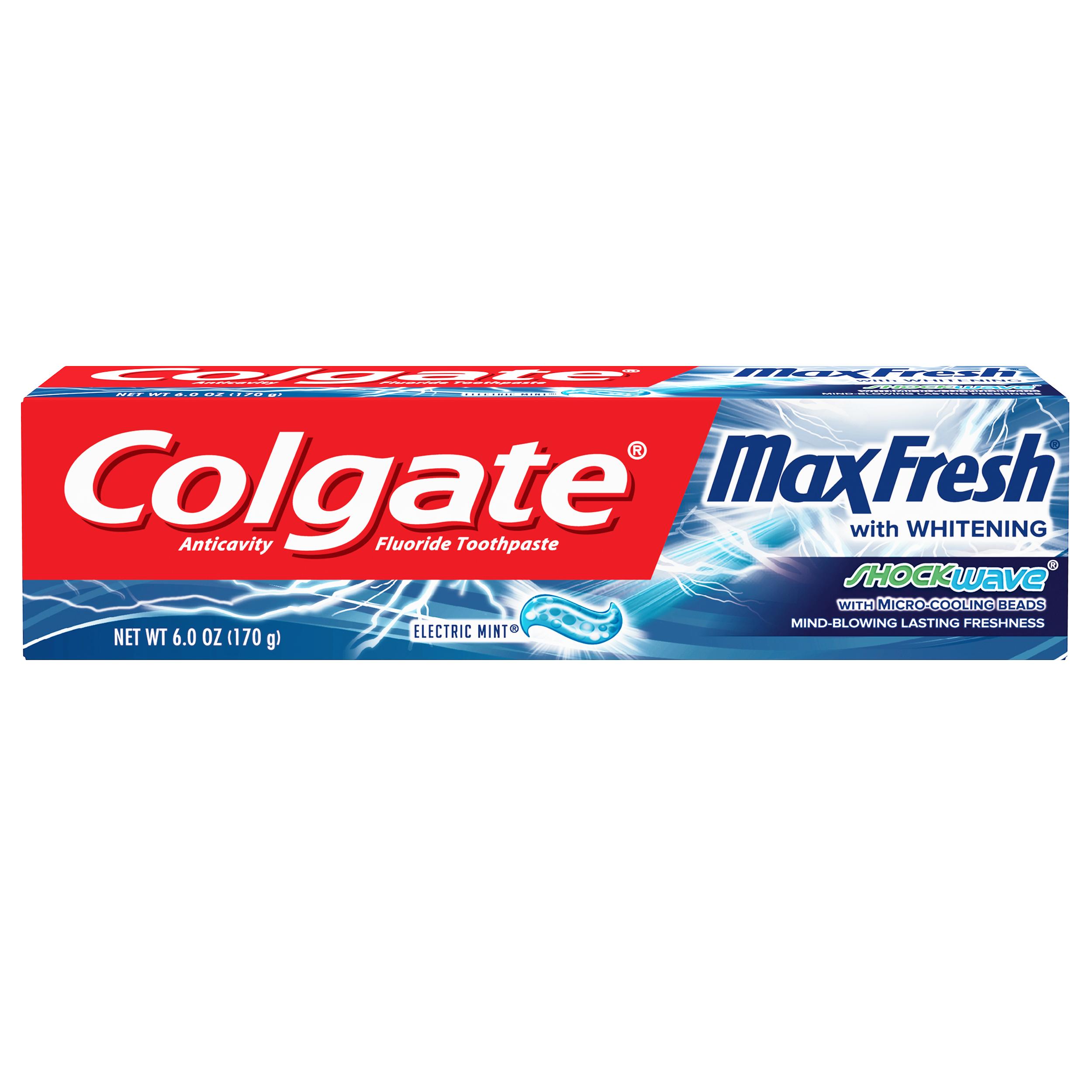 Colgate Max Fresh Shockwave