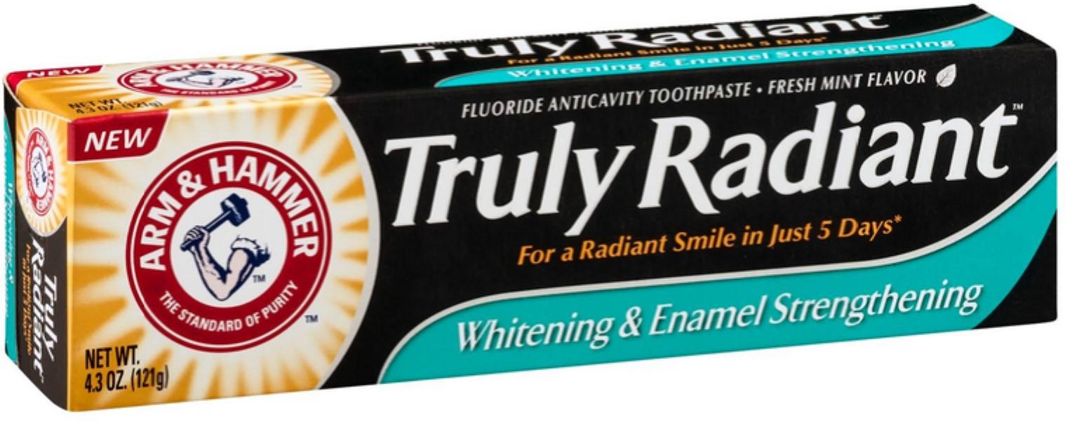 Arm & Hammer Truly Radiant Whitening & Enamel Strengthening
