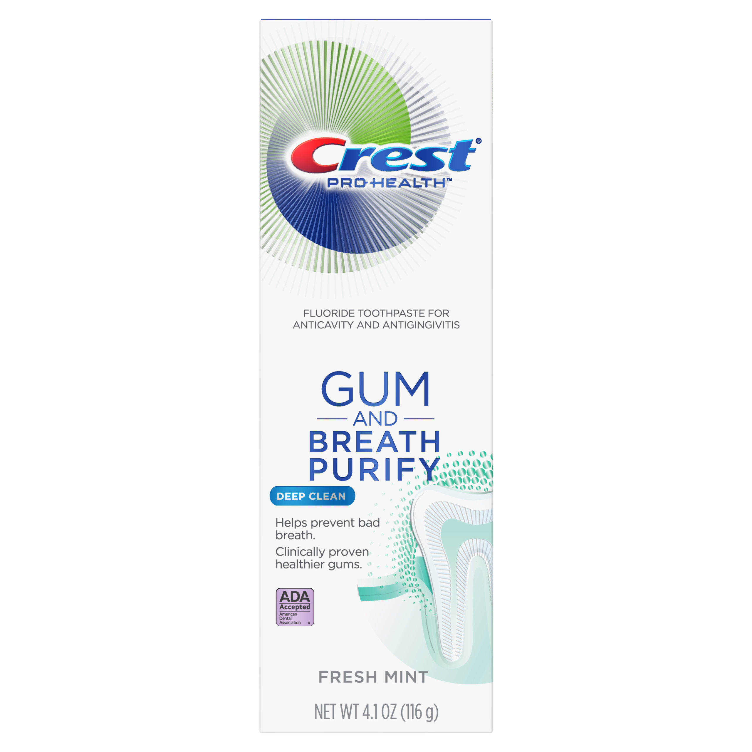 Crest Gum and Breath Purify, Deep Clean