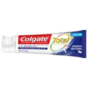 Colgate Total Whitening Toothpaste, Advanced Whitening