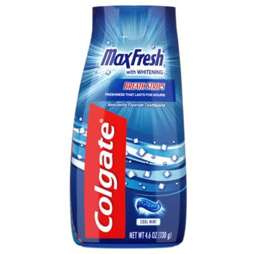 Colgate Max Fresh Liquid Gel 2-in-1 Toothpaste and Mouthwash