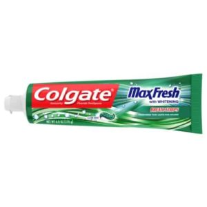 Colgate Max Fresh Toothpaste with Mini Breath Strips Clean Mint