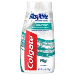 Colgate Max White Liquid Whitening Toothpaste, Crystal Mint
