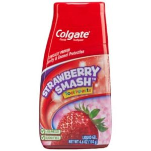 Colgate Kids 2-in-1 Toothpaste and Mouthwash, Strawberry Smash