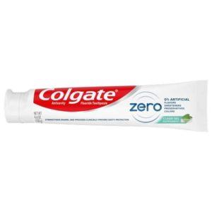 Colgate Zero Toothpaste - Peppermint Clear Gel