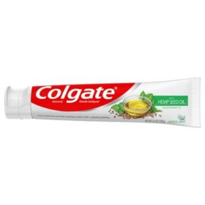 Colgate Hemp Seed Oil Toothpaste - Herbal Mint Gel
