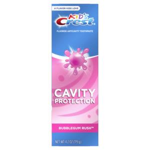 Crest Kid's Cavity Protection Fluoride Toothpaste, Bubblegum Rush