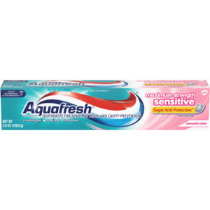 Aquafresh Maximum Strength Sensitive