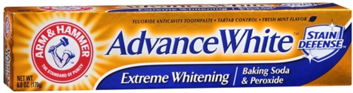 Arm And Hammer Advance White Extreme Whitening with Stain Defense