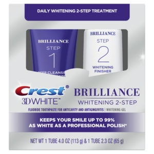 Crest 3D White Brilliance Two Step