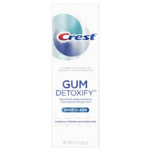 Crest Gum Detoxify Deep Clean