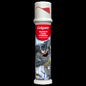 Colgate Maxiumum Cavity Protection Kids Pump Batman