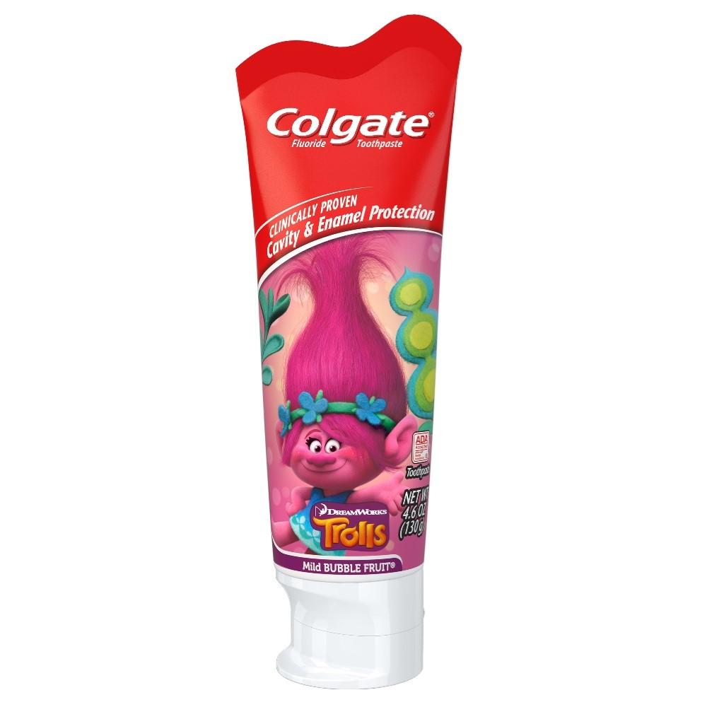 Colgate Kids Toothpaste with Anticavity Fluoride, Trolls