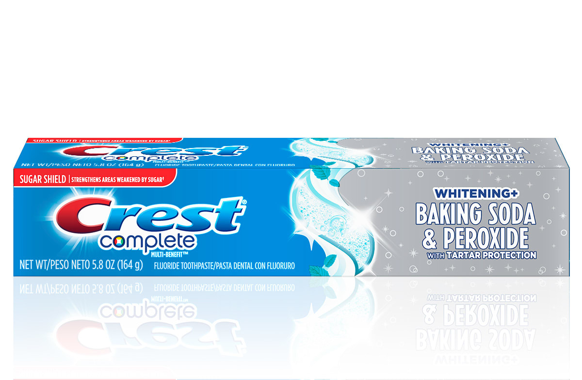 Crest Complete Whitening + Baking Soda & Peroxide With Tartar Protection