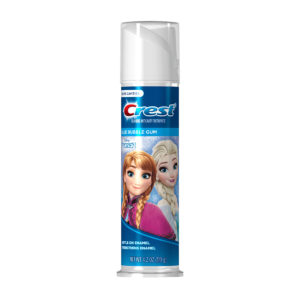 Crest Kid's Cavity Protection Toothpaste Pump featuring Disney's Frozen