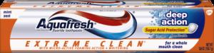 Aquafresh Extreme Clean  DEEP ACTION
