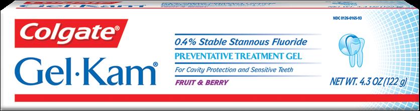 Colgate Gel-Kam Fluoride Preventative Fruit