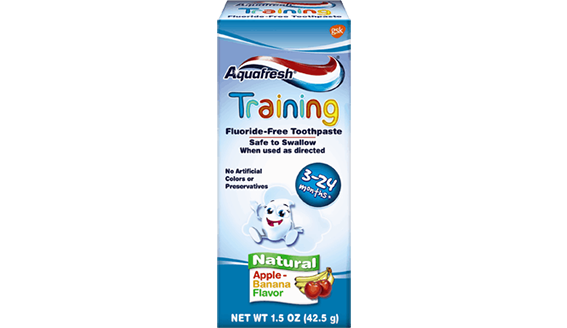 Aquafresh KIDS 0-2 TRAINING PASTE