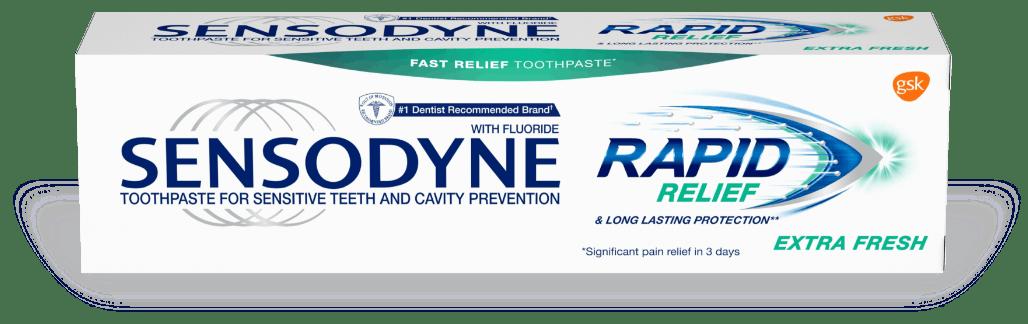 Sensodyne Rapid Relief Extra Fresh