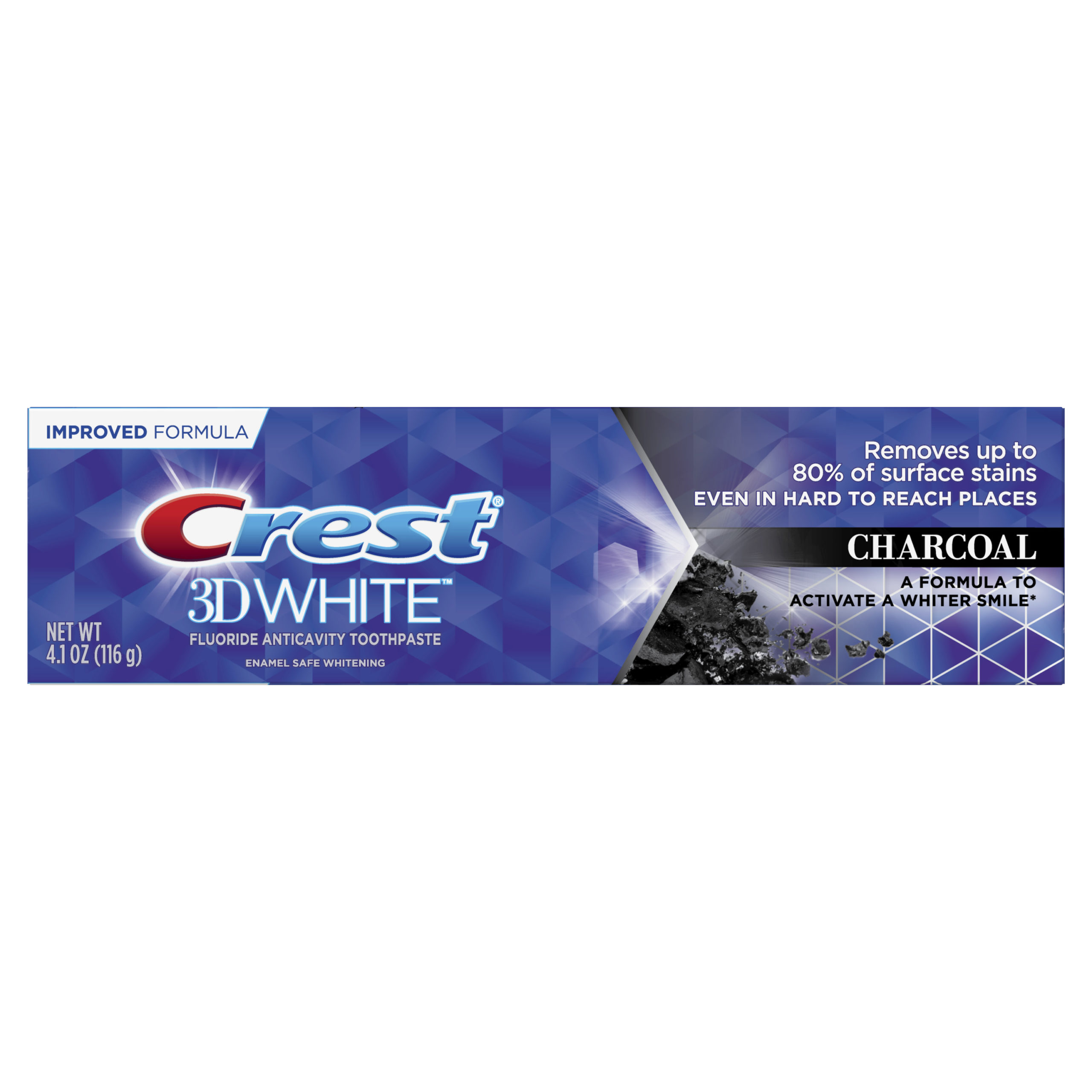Crest 3D White, Whitening  Charcoal