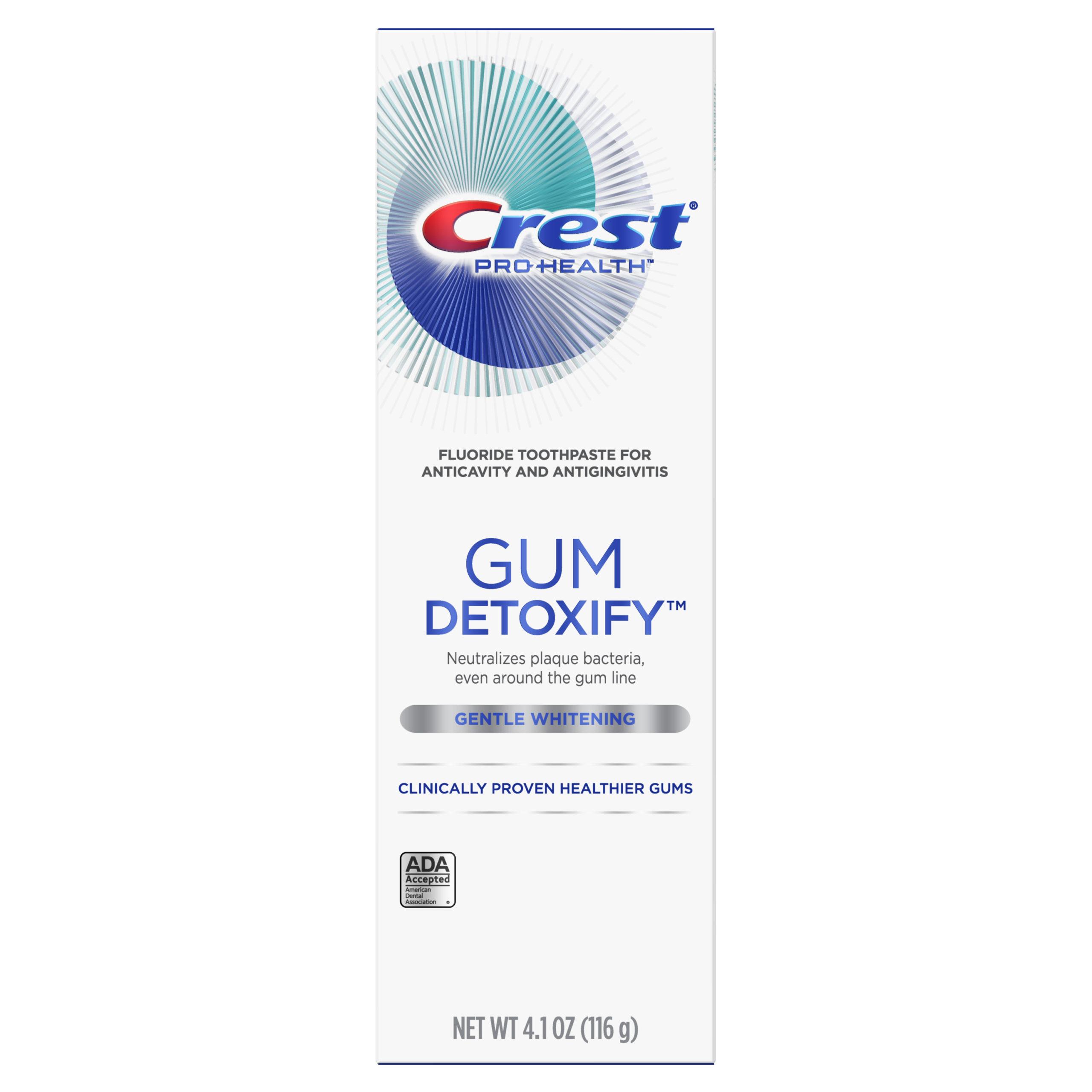 Crest Gum Detoxify Gentle Whitening