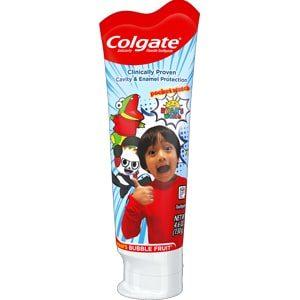 Colgate Kids Toothpaste with Fluoride Ryan's World