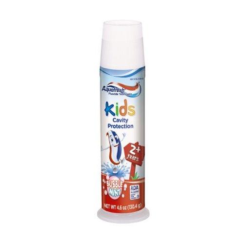 Aquafresh KIDS AGES 2+ BUBBLE MINT TOOTHPASTE