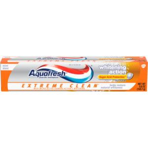 Aquafresh Extreme Clean Whitening Action