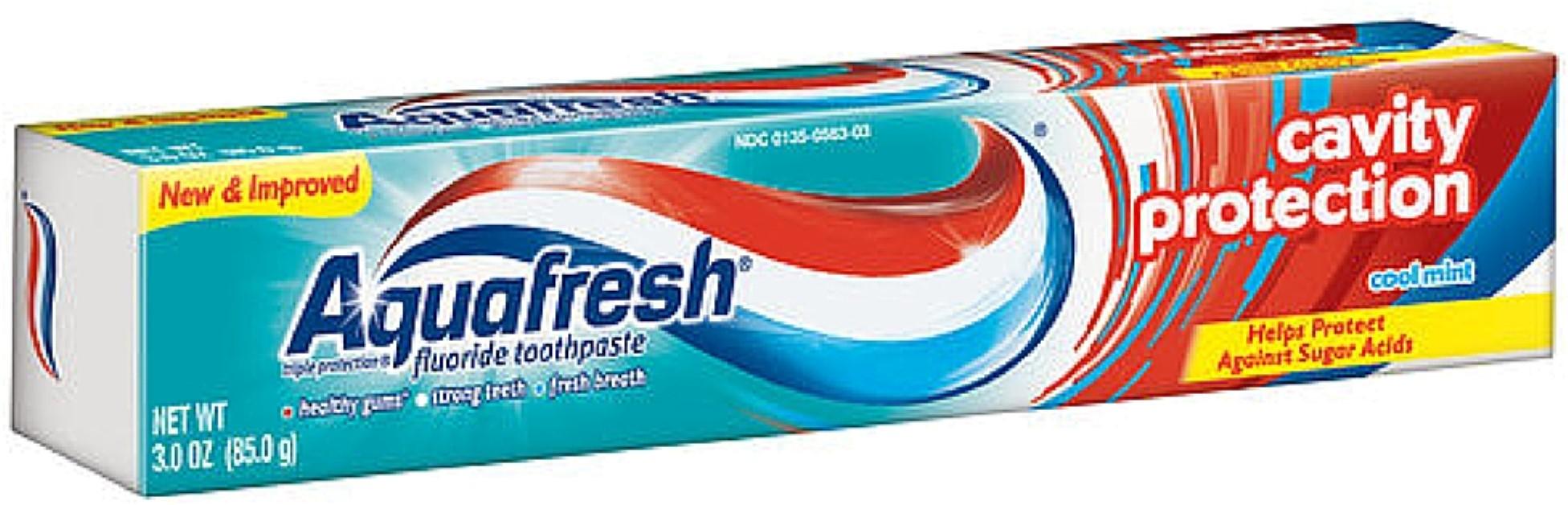 Aquafresh Cavity Protection