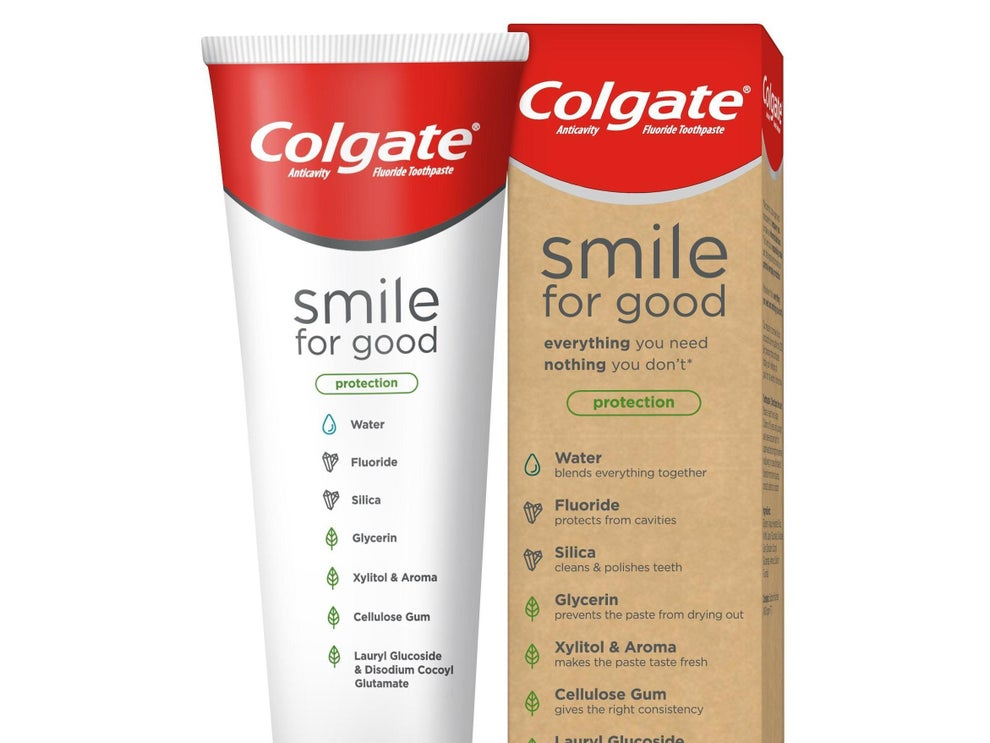 """Сolgate launches """"first ever"""" vegan-certified toothpaste"""