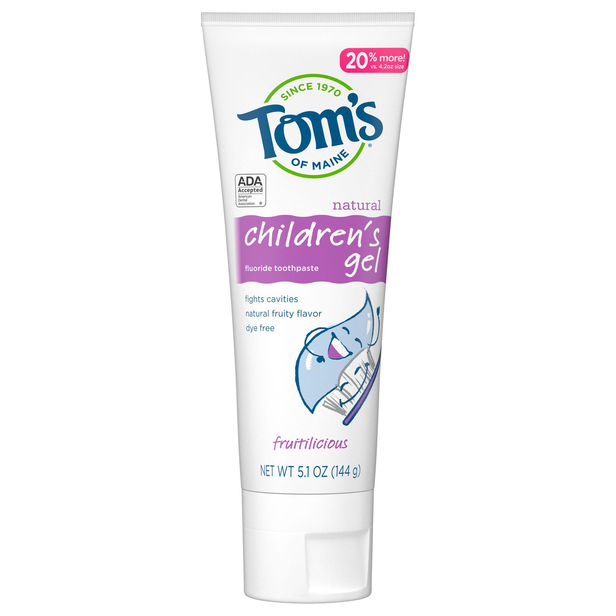Tom's of Maine Children's Gel