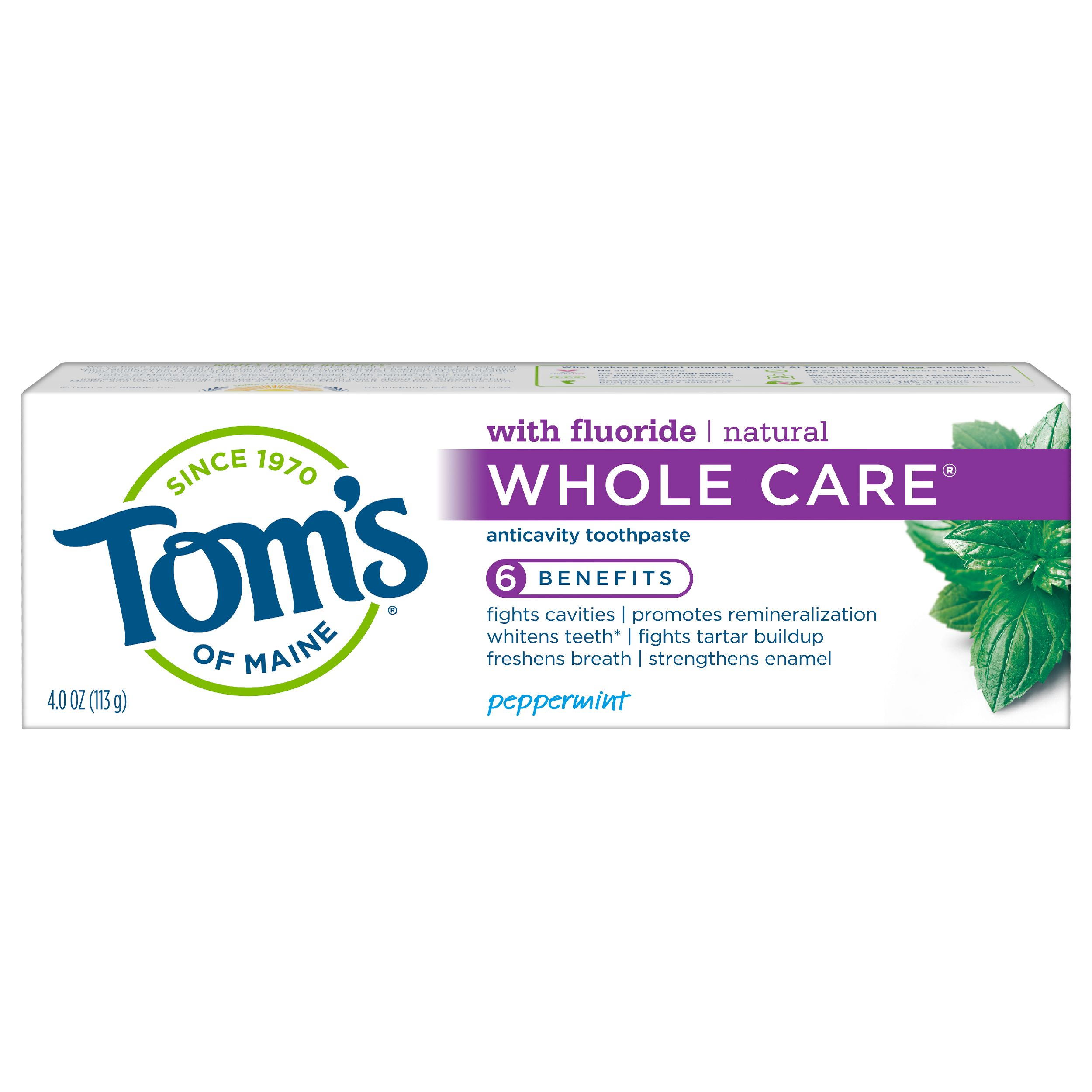 Tom's of Maine Whole Care Peppermint