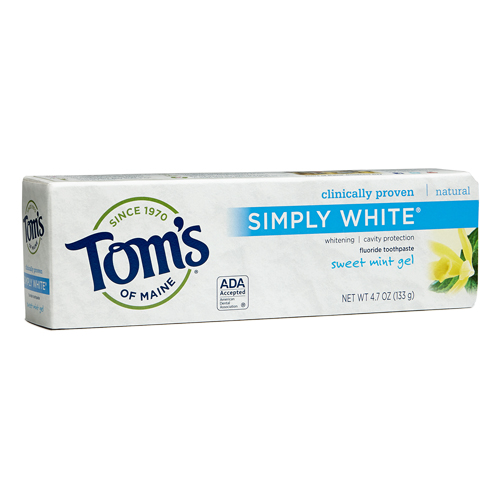 Tom's of Maine Simply White Sweet Mint