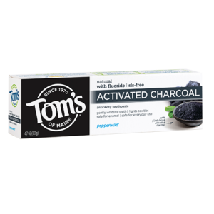 Tom's of Maine Activated Charcoal Peppermint