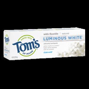 Tom's of Maine Luminous White Clean Mint
