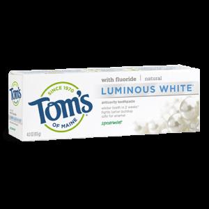 Tom's of Maine - Luminous White, Spearmint