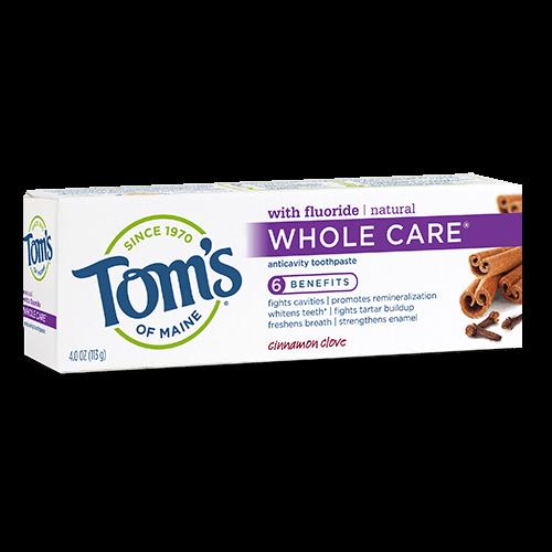 Tom's of Maine Whole Care Cinnamon Clove
