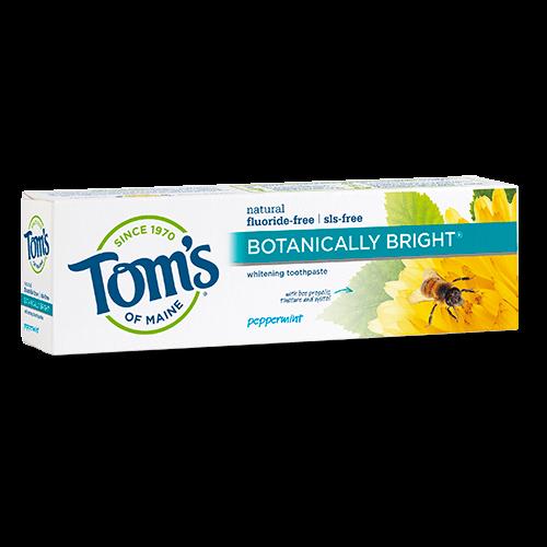 Tom's of Maine Botanically Bright Peppermint Whitening