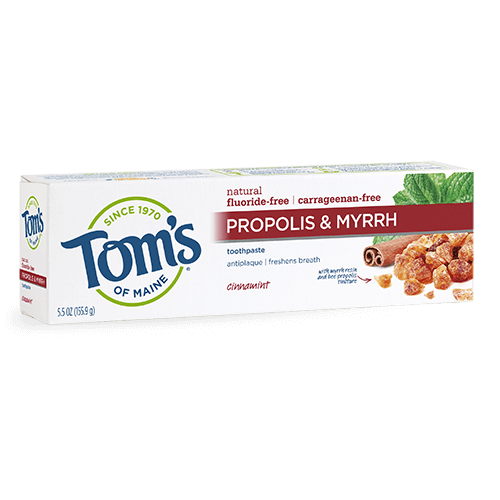 Tom's of Maine Propolis & Myrrh Cinnamint