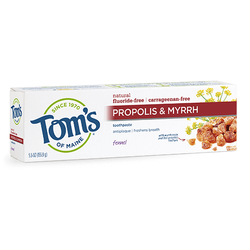 Tom's of Maine Propolis & Myrrh Fennel